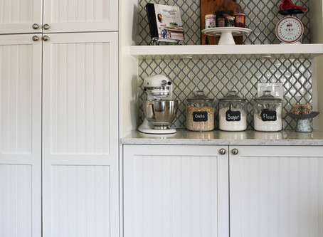 Pantry Cupboard Makeover