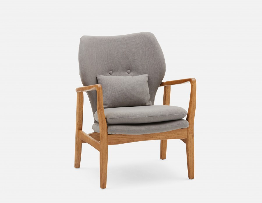 KLEIN - Armchair - Grey