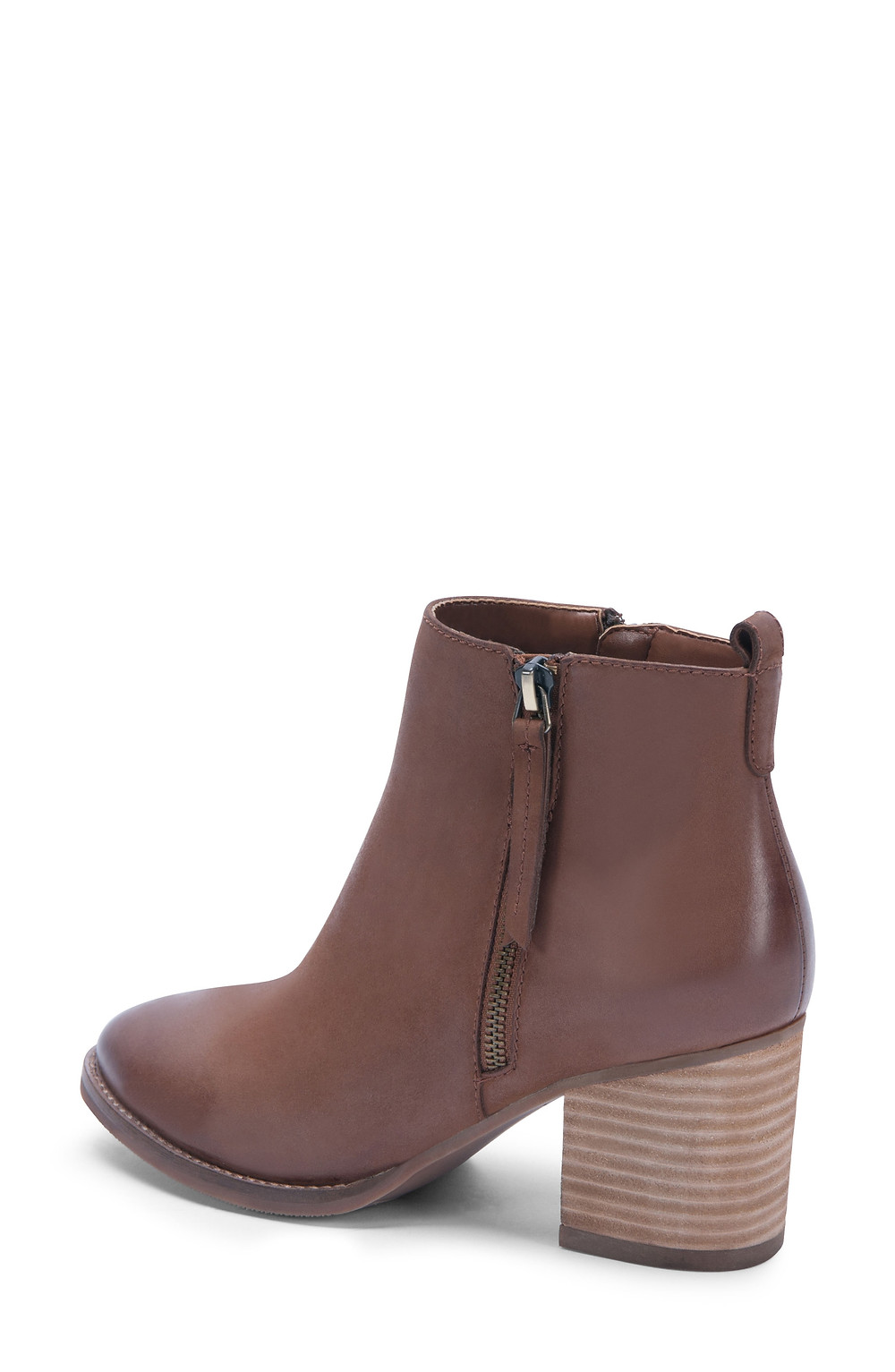 Nova Waterproof Bootie, Alternate, color, Cognac Nubuck
