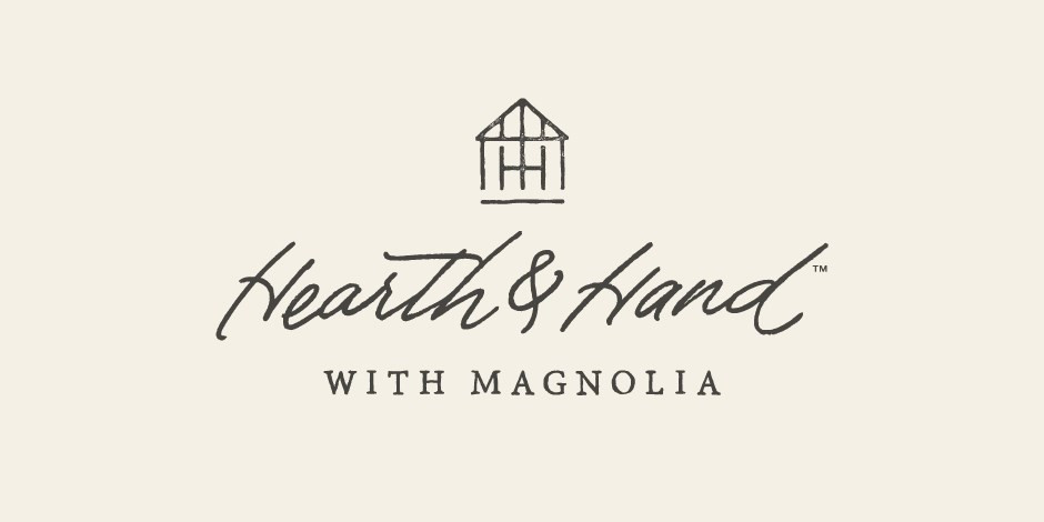 The Hearth & Hand with Magnolia logo on a cream background