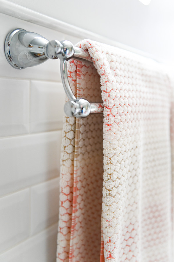 Decorative bath towels