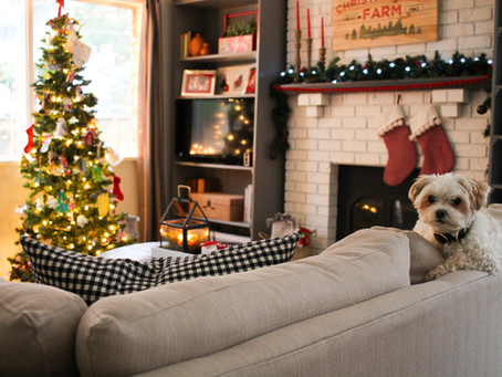 Family Room Christmas Tour