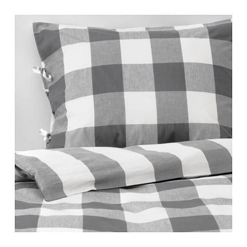 EMMIE RUTA Duvet cover and pillowcase(s) IKEA