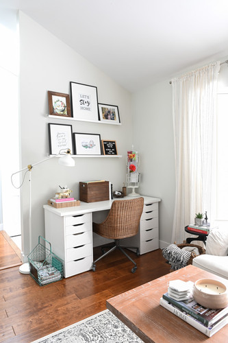 Office nook in the Living Room