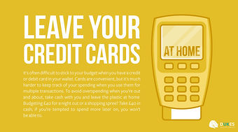 Leave Your Credit Cards at Home
