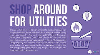 Shop Around for Utilities