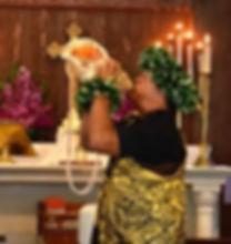 Conch Shell, All Saints' Episcopal Church