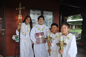 Children, Keiki, of All Saints' Church