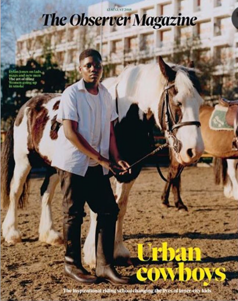 The Observer Magazine Cover
