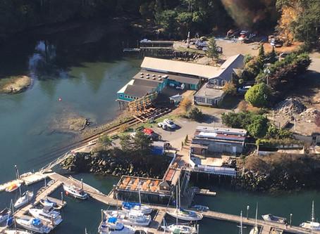 Beautiful Aerial Shot - THANKS RYAN WITH GULF ISLAND SEAPLANES