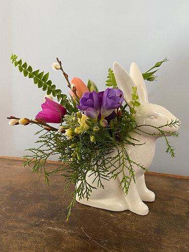 Garden Bunny Vase/Planter