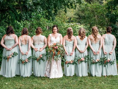 Wedding spotlight: Courtney & Ryan,  September 2019, The Red Barn at Outlook Farm