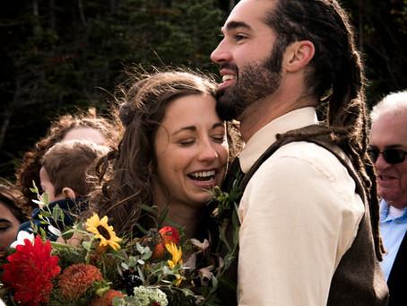 Wedding Spotlight: Amanda & Drew's Mountaintop Fall Wedding
