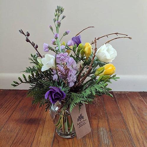 Fresh Seasonal Vase Arrangement