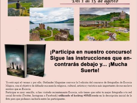 I concurso de fotografía Escocia Mágica