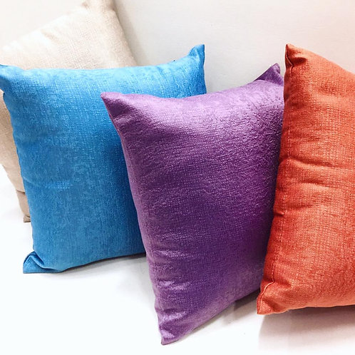 Block Colour Cushion Covers