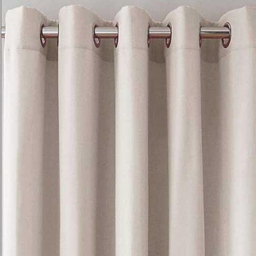 Canvas Blackout Ringtop Curtains (7 colours)