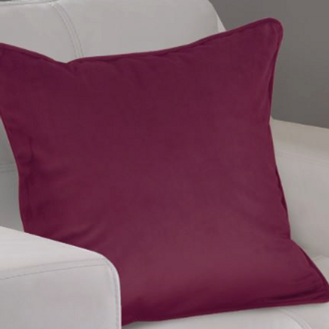 Montreal Soft Velour Cushion Covers (9 colours)