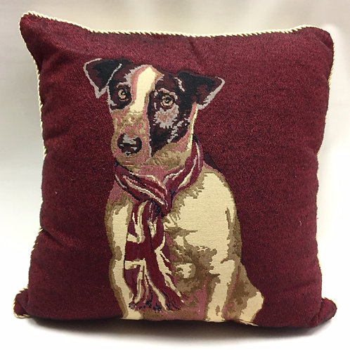 Dog Cushion Covers (cream back - 3 designs)