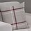 Thumbnail: Hudson Woven Check Ring Top Curtains (4 colours)