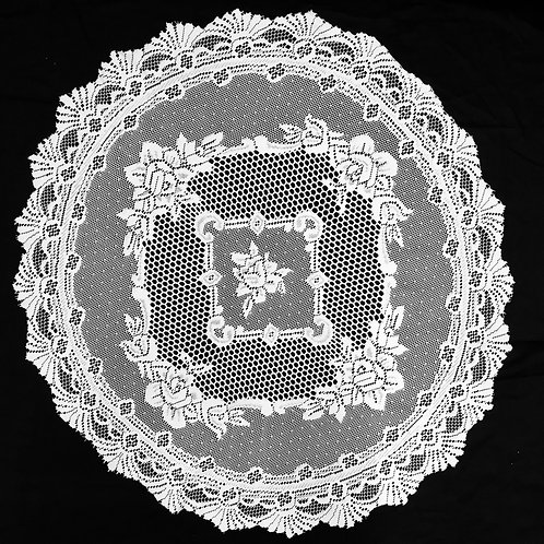 Monaco Round Lace Tablecloth