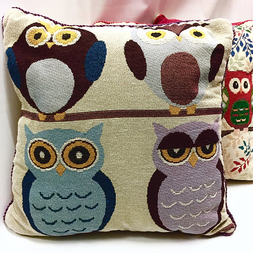 Owl Cushion Covers (4 designs)