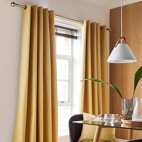 Libby Blackout Ring Top Curtains (3 colours)