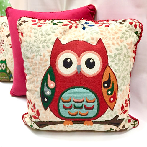 Large Owl Cushion Covers (4 designs)