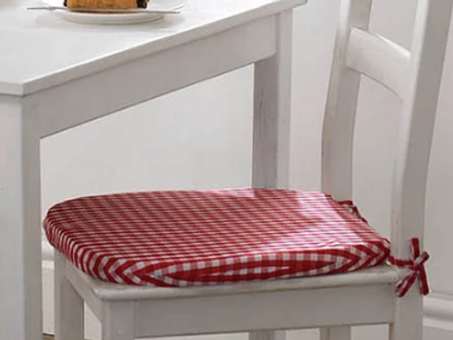 Gingham Seat Pads (6 colours)