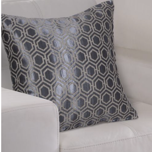 Ezra Geometric Metallic Cushion Cover (3 colours)