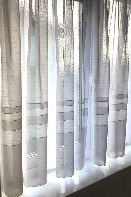 Light Fleck Verona Net Voile
