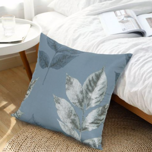 Blakely Metallic Leaf Cushion Cover (5 colours)