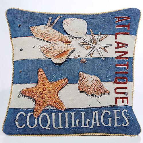 Seashells Cushion Cover (2 designs)