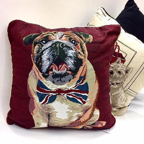 Bulldog Cushion Cover