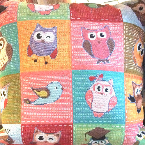 Multi Owl Cushion Cover (6 designs)
