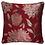 Thumbnail: Elanie Metallic Leaf Ring Top Curtains (5 colours)