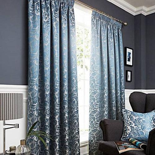 Buckingham Jacquard Metallic Curtains (7 colours)