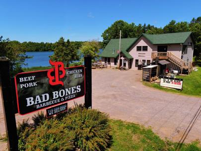 Bad Bones BBQ; Arbor Vitae, WI