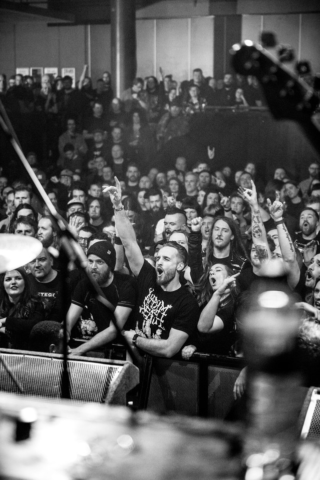 Napalm Death Crowd