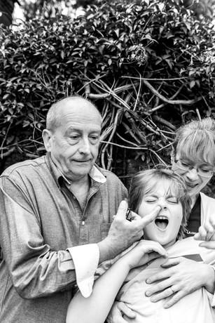 Ian Bartholomew, Loveday Ingram & son