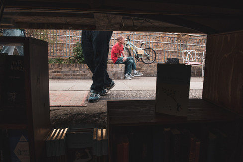 Canal Boat Book Shop