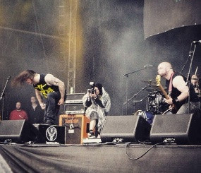 Malefice at Download Festival