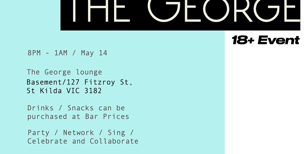 A Night In at the George / 18+
