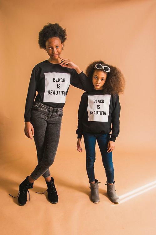 Black is Beautiful Kids Sweater