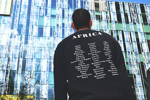 Africa On My Back sweater