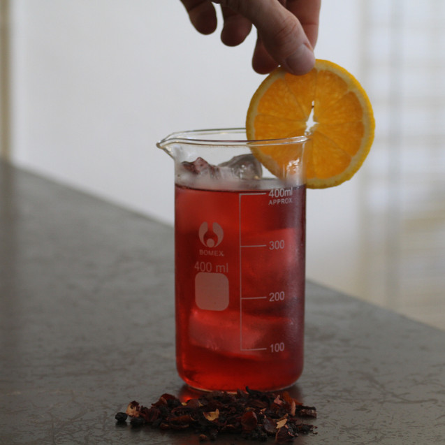 Garnish your cold brew