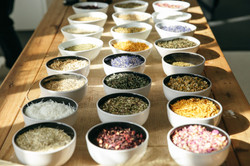 Herbs to create your blend