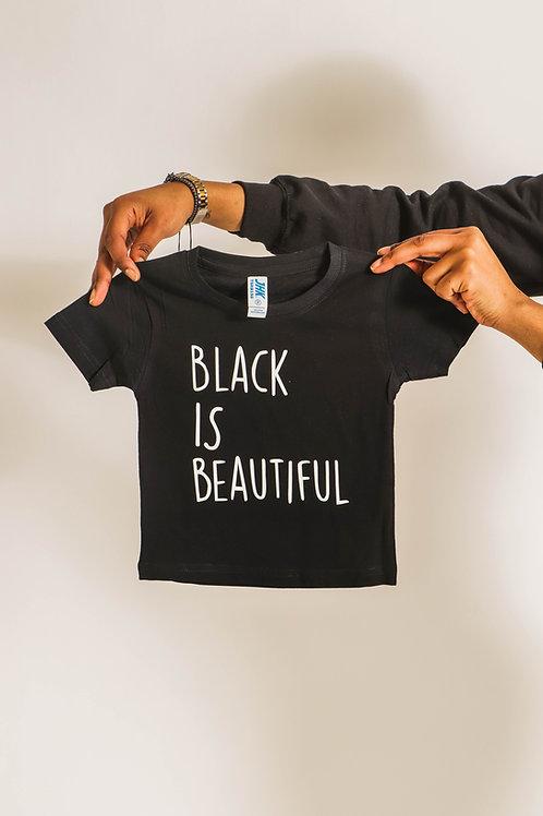 Black is Beautiful Baby Shirt