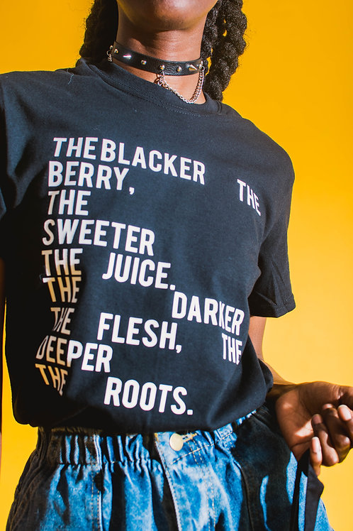 The Blacker The Berry, The SweeterThe Juice