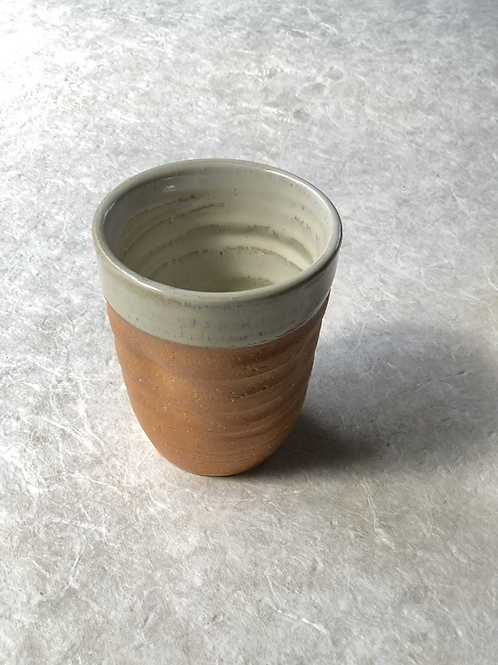 Burnt Orange Cup & Tea